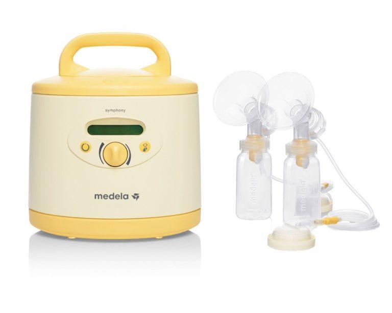 Hospital-grade breast pumps